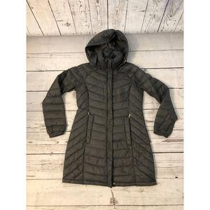 Michael Kors Packable Gray down parka jacket S